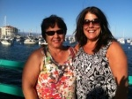 Colleen and Kathy in Catalina