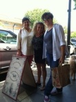 I met Jennifer and Angie for lunch in Santa Rosa in July.