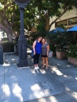 Donna and I enjoyed a nice afternoon together in downtown Culver City.